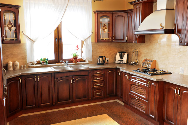 Mebla kuchenne Meble drewniane kuchenne -> Kuchnie Drewniane Stylowe